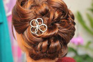 chignon coiffure salon coiffure rouen